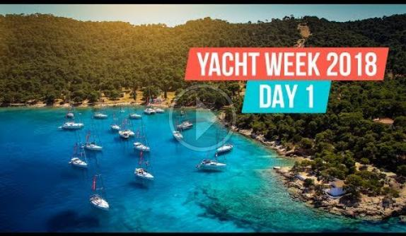 Embedded thumbnail for French Riviera Yacht Week 2018. Day 1