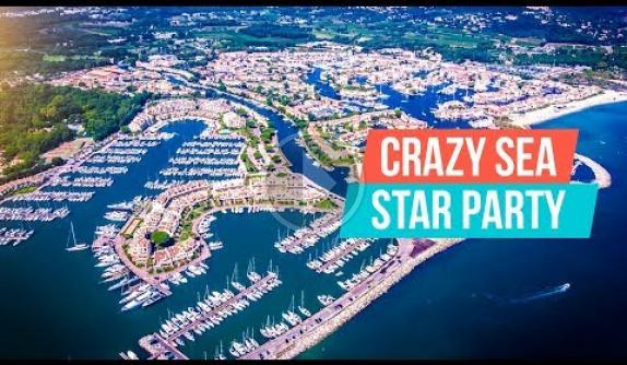 Embedded thumbnail for Crazy Sea Star Party! French Riviera Yacht Week 2018